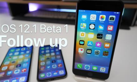 iOS 12.1 Beta 1 – Follow up