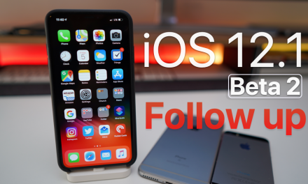 iOS 12.1 Beta 2 – Follow up