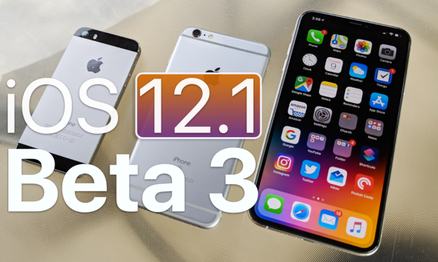 iOS 12.1 Beta 3 – What's New?