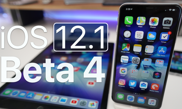 iOS 12.1 Beta 4 – What's New?
