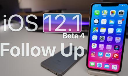 iOS 12.1 Beta 4 – Follow up