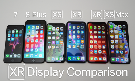 iPhone XR Display Comparison