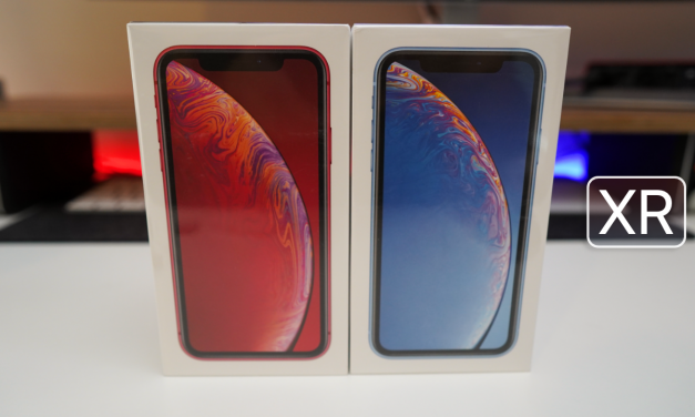 iPhone XR – Unboxing, Setup and Display Comparison