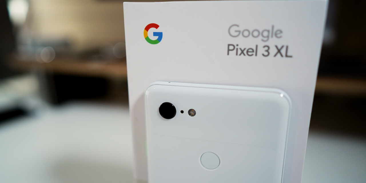 Pixel 3 XL – Unboxing and first setup