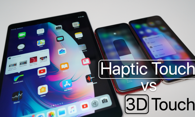 Haptic Touch vs 3D Touch – What's Different?