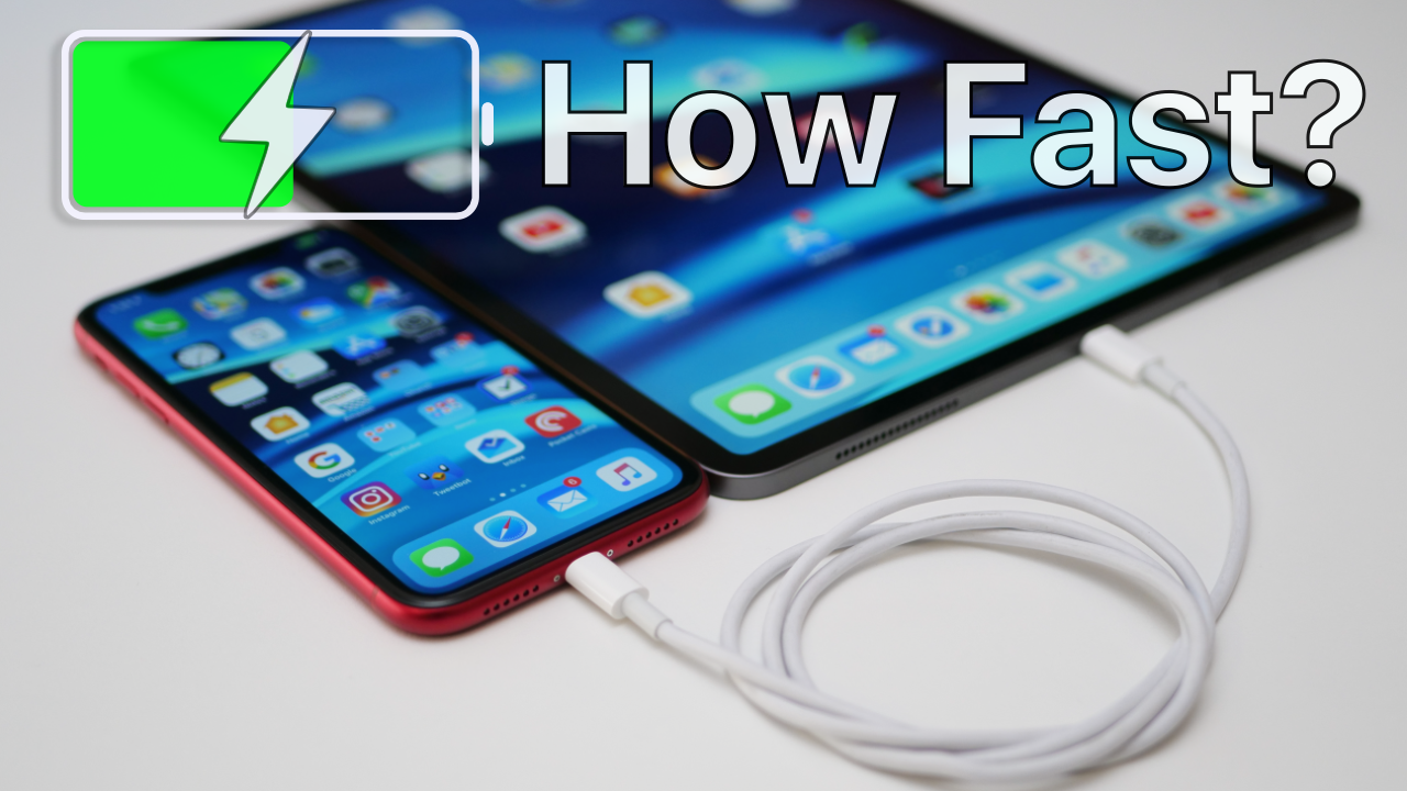 Charging iPhone using iPad Pro - How Fast is it? | Zollotech