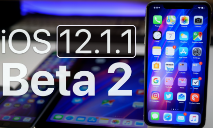iOS 12.1.1 Beta 2 – What's New?