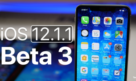 iOS 12.1.1 Beta 3 – What's New?