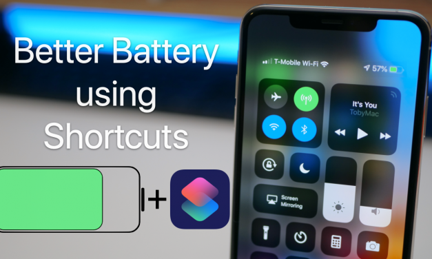 Manage iPhone Battery Life Using Shortcuts