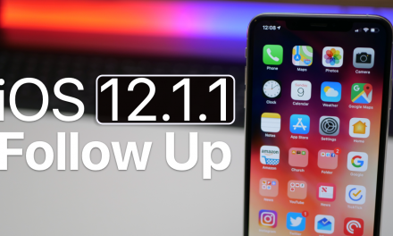 iOS 12.1.1 Follow Up