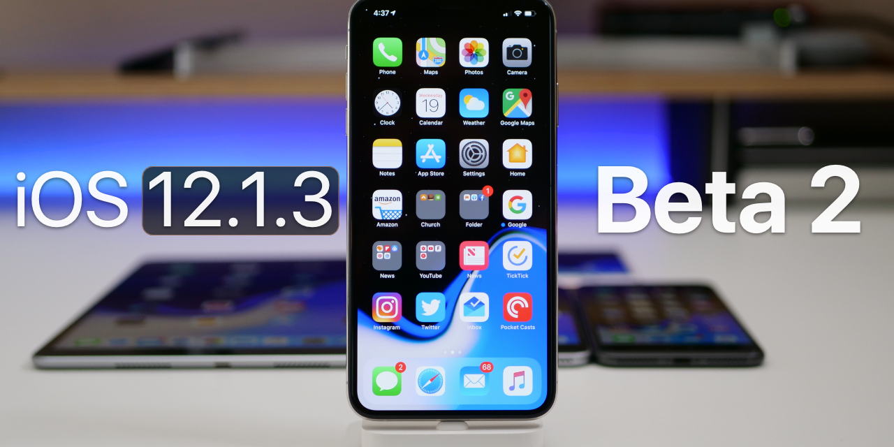 Ios 12 1 3 Beta 2 What S New Zollotech