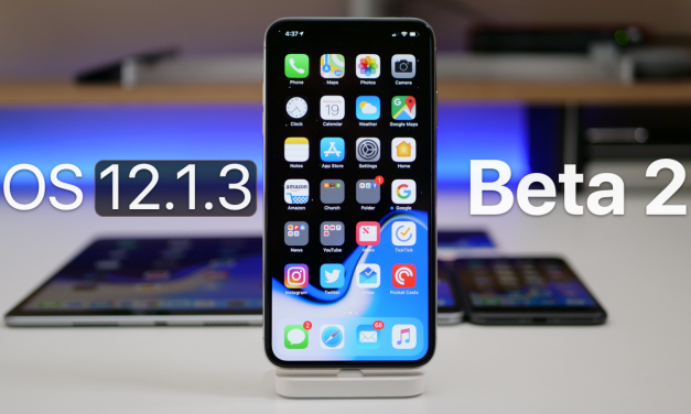 iOS 12.1.3 Beta 2 – What's New?
