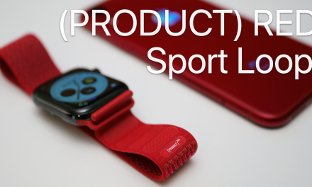 Product Red Sport Loop for Apple Watch – Review