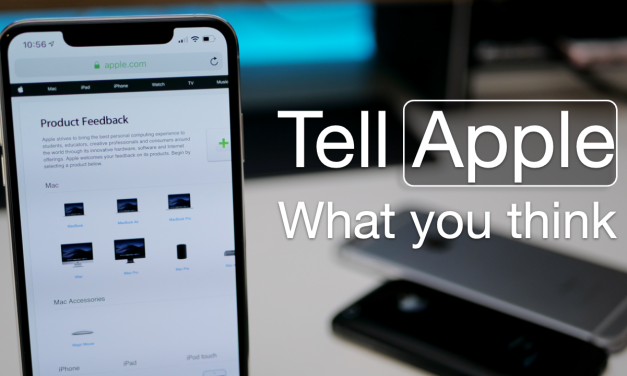 How To Tell Apple What You Think or Give Them Suggestions