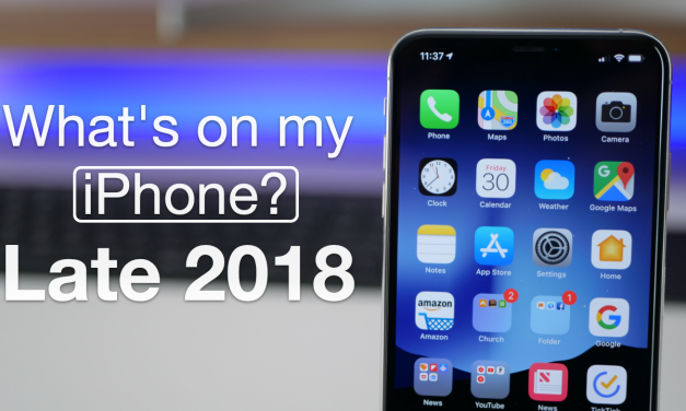 What's on my iPhone? – Late 2018