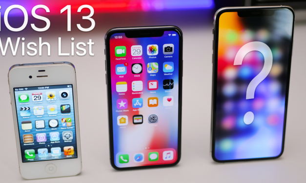 iOS 13 Wishlist