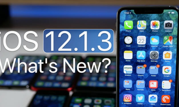iOS 12.1.3 is Out! – What's New?