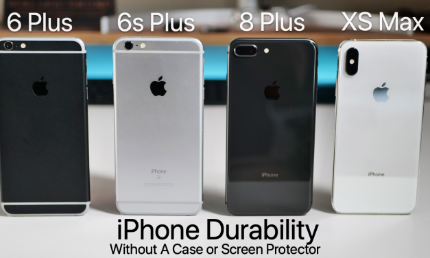 iPhones – A Year Without A Case or Screen Protector Durability