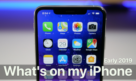 What's on my iPhone? – Early 2019