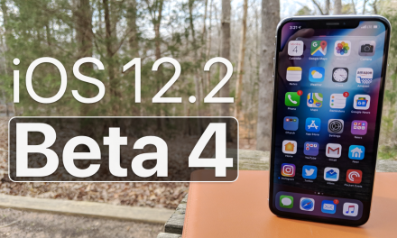 iOS 12.2 Beta 4 – What's New?