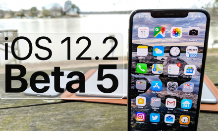 iOS 12.2 Beta 5 is Out! – What's New?