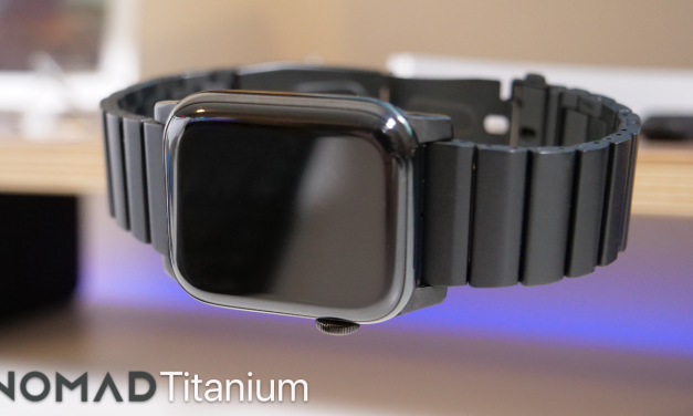 Nomad Limited Edition Titanium Apple Watch Band