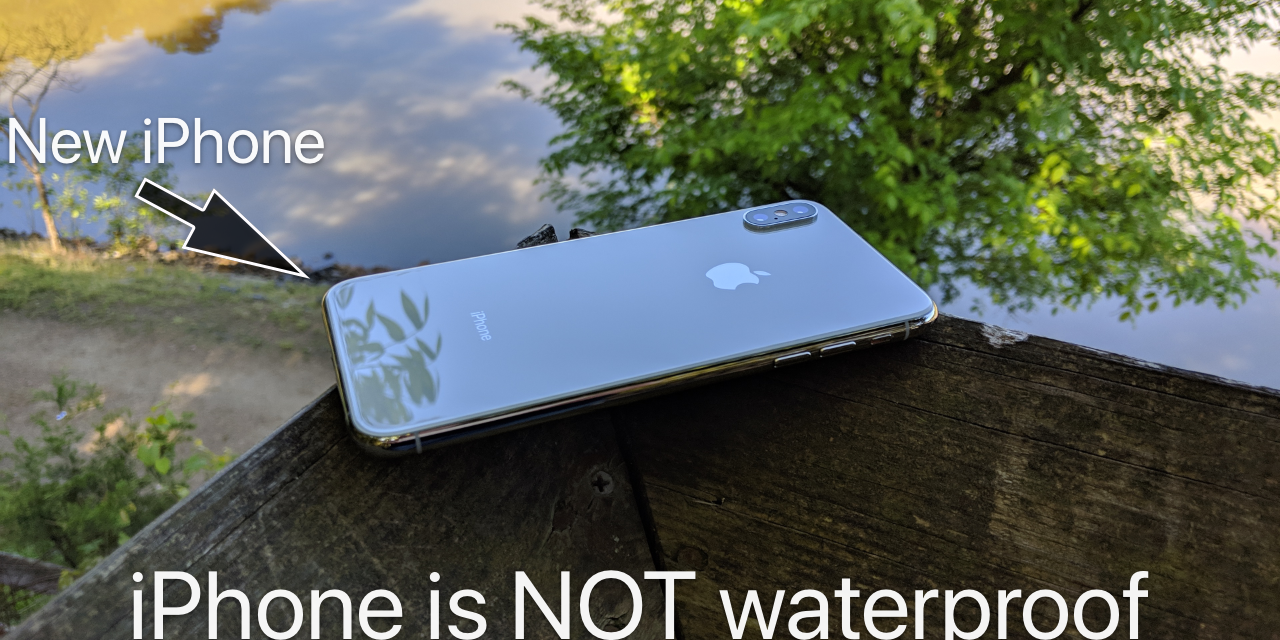 iPhone is NOT Waterproof – My AppleCare+ experience