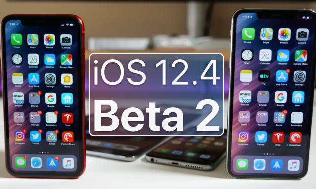 iOS 12.4 Beta 2 – What's New?