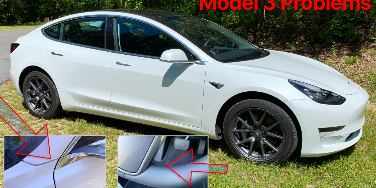 Everything wrong with my Tesla Model 3 – Quality and Warranty Issues