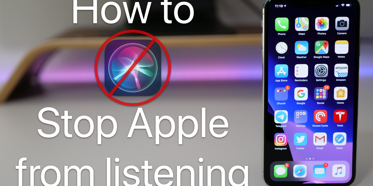 Siri has been listening – How to stop sending Siri conversations to Apple