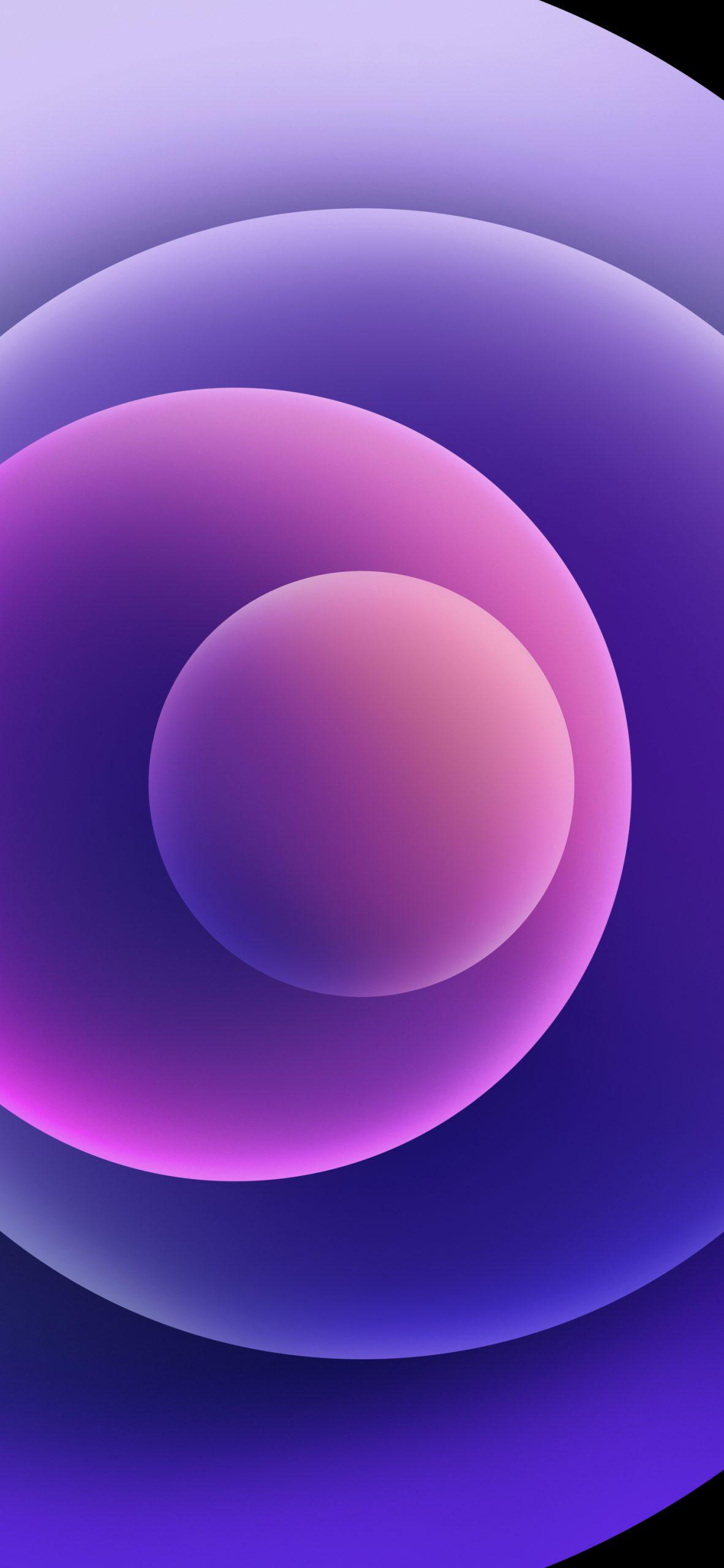iPhone 21 Purple Wallpaper – light mode   Zollotech